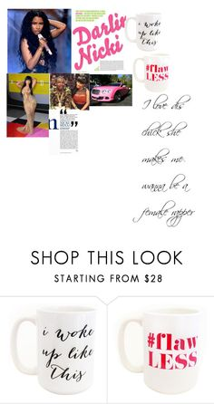 """NICKI MINAJ BITCHES!!!!!!!"" by essencehairston ❤ liked on Polyvore featuring beauty, Nicki Minaj and Moon and Lola"