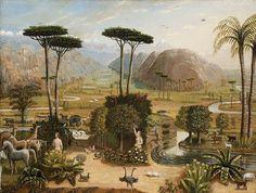 Erastus Salisbury Field, The Garden of Eden, 1860, Museum of Fine Arts, Boston