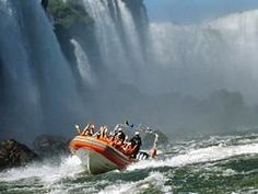 Iguazu Falls Tours The awesome Iguazu Falls tours have been considered the most spectacular in the world. With more than 250 cascades tumbling from the Upper Iguazu down river into a ravine 230ft below... Check your #Travel #Tours #Packages #Vacations at#iguazufalls  in #Argentina . Different #destinationsare waiting for You! 01Argentina #TravelAgency #Cascades