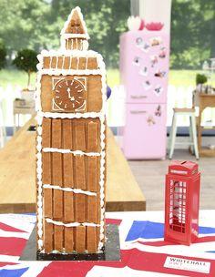 Le Meilleur Pâtissier Semaine 4 – Big Ben en pain dépices photo