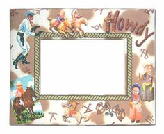 Kids Picture Frames Cowboy Theme