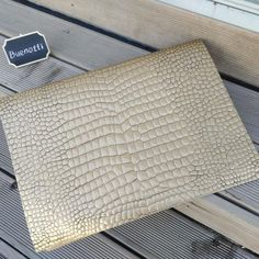 fcf1adf438be Handmade luxury crocodile vegan leather in metals color.  vegan  veganbag   eco