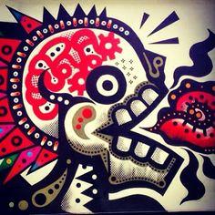 #Neuzz para recordar a todos los que se nos adelantaron #streetartchilango #streetart #street #streetphotography #sprayart #urban #urbanart #urbanwalls #wall #wallporn #graffitiigers #artporn #art #graffiti #instagraffiti #instagood #artwork #mural #graffitiporn #photooftheday #streetartistry