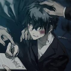 Persona 5 Anime, Persona 5 Joker, Yandere Boy, Yandere Anime, Kaneki, Anime Black Hair, Ren Amamiya, Sick Boy, Shin Megami Tensei Persona