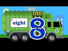 ▶ Garbage Truck Number Counting - Garbage Trucks Count 1 to 10 for Kids - YouTube