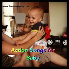 Action Songs for Babies - Lyrics, Photos, and Actions included!