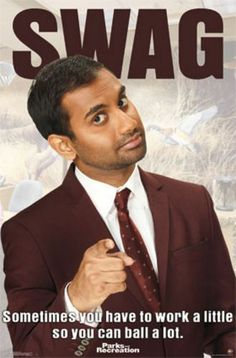 TELEVISION POSTER Parks and Recreation Tom Aziz Ansari #Realism