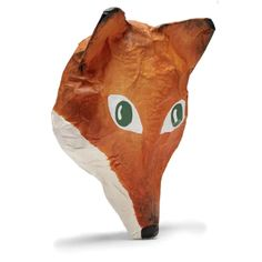 Paper Mache Animal Head- Fox | Shop Merci Milo Animal Heads, Fox Animal, Home Goods Furniture, Paper Mache Animals, Fantastic Mr Fox, Zoo Keeper, Woodland Critters, Pre Christmas, Pet Fox