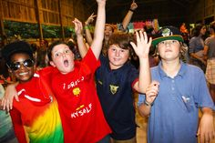 The camp Carolina boys might be crazy but the camp Carolina dance is like the best night ever!