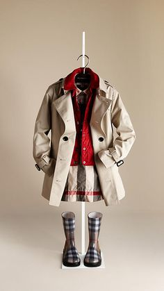 Burberry - COTTON TWILL TRENCH COAT