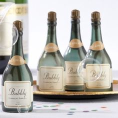 Bubbly Champagne Bubbles