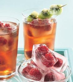 Very Berry Iced Tea | Children | Kids | Family | Children's Recipes | Beverages | harrypierre.com