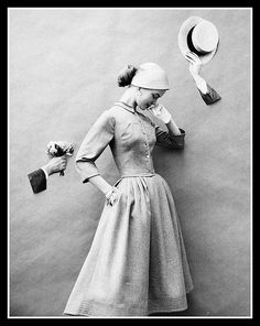 Fashion photo by Wingate Paine, c.1956 | by skorver1