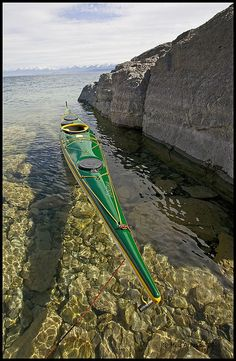 Flathead Lake.. the water is so clear it could be 3feet or 30 feet deep- by Mark Payton, via Flickr