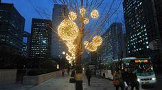 Decoração de Natal em Seul, Coreia do Sul                              …