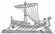 known as Ulysses to the Romans, is the Greek hero of the epic story The Odyssey by Homer. Historical Pictures, Bronze Age, Greek Mythology, Ancient Greece, My Hero, Images, Ship, Drawings, Silhouettes