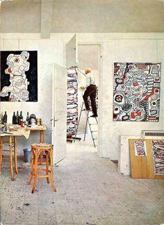 Escaliers de Jean Dubuffet 1967