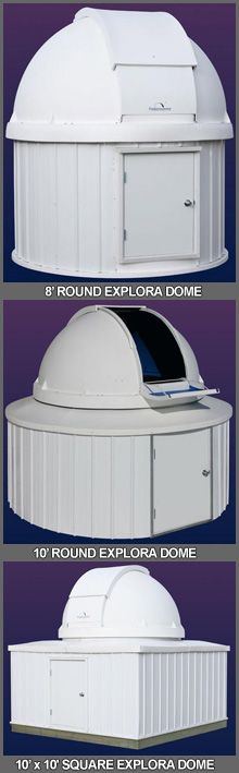 Backyard Observatory Domes For Sale | Home Observatories For Sale | Buy Affordable Observatory Dome at Explora-Dome.com