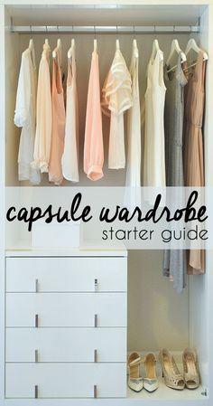 Capsule Wardrobe Starter Guide