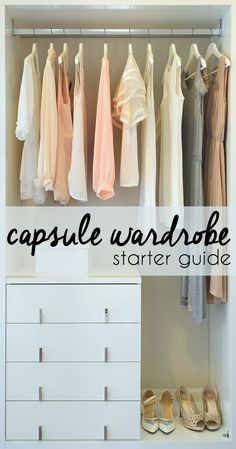 Cinch Wardrobe Waste By Creating A Capsule Wardrobe