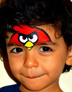 angry birds face painting - Google Search