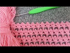 Crochet dowry wildflower vest model & Knitting pattern - YouTube Filet Crochet, Crochet Stitches Free, Crochet Edging Patterns, Crochet Diy, Baby Knitting Patterns, Wool Embroidery, Flower Embroidery Designs, Crochet Instructions, Crochet Videos