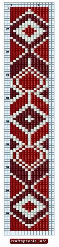 نتيجة الصورة لـ Free Loom Bead Patterns