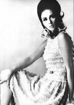 1966 lace dress