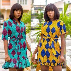 2019 Lovely Ankara Short Gown Styles for African Ladies 2019 Lovely Ankara Short Gown Styles for African Ladies Best African Dresses, African Traditional Dresses, African Inspired Fashion, Latest African Fashion Dresses, African Print Fashion, African Attire, African Style Clothing, Ankara Fashion, African Print Skirt