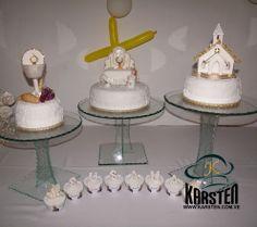 Torta y decoración de #Bautizo
