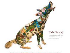 Animals-under-Vintage-Tapestry-by-Frederique-Morrel