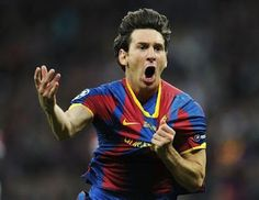 Lionel Messi of FC Barcelona celebrates scoring his teams second goal during the UEFA Champions League final between FC Barcelona and Manchester United FC at Wembley Stadium on May 2011 in. Get premium, high resolution news photos at Getty Images Manchester United Champions League, Barcelona Vs Manchester United, Messi Champions League, Fc Barcelona, Barcelona Football, Messi 2010, Messi Vs, Lionel Messi Wallpapers, Fernando Torres