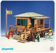 Station Safari, Playmobil