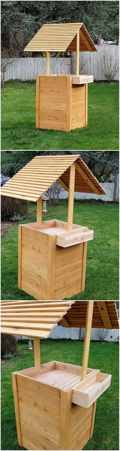 Inspired and Unique Ideas for Recycling Pallets: Thinking about designing something really creative with the shipping wood pallets? Are you desiring to add up your house with the unique. Backyard Projects, Pallet Projects, Diy Projects, Pallet Ideas, Used Pallets, Recycled Pallets, Pallet Furniture, Outdoor Furniture Sets, Woodworking Plans