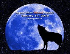 We have a rare magical Blue Moon coming on the 31st!  There will be a total lunar eclipse on the night of the Full Blue Moon as well as it being a Super Blood Moon! Is that not incredible?  The last time all three events lined up this perfectly was more than 150 years ago. The last time humans saw a total eclipse of a blue moon was 31 March 1866. We began the New Year with a Full Moon and we are going to end it on the 31st with a Full Moon.