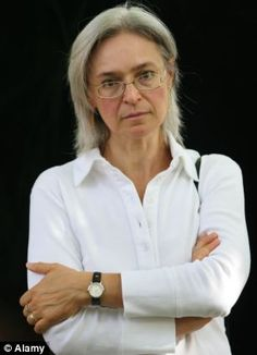 Anna Politkovskaya, controversial, outspoken Russian journalist and critic of the Russian government HAPPY BIRTHDAY, VOVA Anna Politkovskaya, Political Prisoners, Female Hero, Women In History, Chill, In This Moment, Critic, Heroines, Face