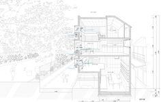 Oriel Window Housevia. archdaily Architects. Shinsuke Fujii Architects Photographs. Tsukui ...