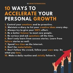 10 ways to personal growth Self Development, Personal Development, Wisdom Quotes, Life Quotes, 5am Club, Motivational Quotes, Inspirational Quotes, Business Motivation, Business Tips