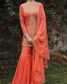 Modern Gharara by Ridhi Mehra