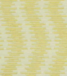 Upholstery Fabric- HGTV Wavering Citrine