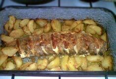 Sajtos-tejfölös sült csuka Zucchini, Pork, Vegetables, Recipes, Kale Stir Fry, Recipies, Vegetable Recipes, Ripped Recipes, Pork Chops