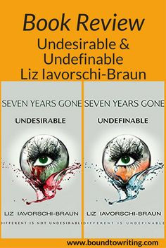 The Seven Years Gone series is a great young adult dystopian read by Liz Iavorschi-Braun. Undesirable (book 1), Undefinable (book 2), and Undeniable (book 3 COMING SOON!)