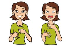 Video: Afraid in Baby Sign Language Signing: Afraid starts with your hands by your sides. Then you bring your hands up in front of your body, palms facing inward and fingers spread. The sign looks …