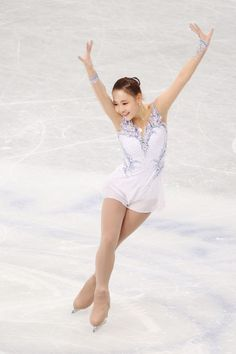 So Youn Park of Korea competes in the Ladies Short Program during ISU World Figure Skating Championships at Saitama Super Arena on March 27, 2014 in Saitama, Japan.
