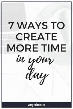 Time Management Strategies to Create More Time - Erin Gobler - I don't about you, but I'm constantly feeling like there aren't enough hours in the day. Productivity Quotes, Increase Productivity, Time Management Strategies, Habits Of Successful People, Work Life Balance, Self Development, Personal Development, Work From Home Moms, Career Advice