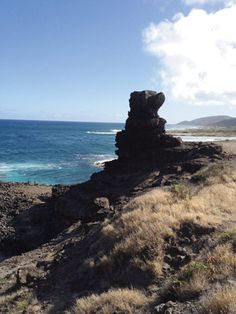 Pele's Chair on a hike near Makapu'u Point. Photo by Patrick Murray.