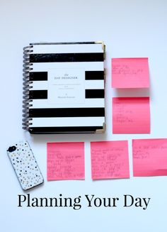 5 Tips on planning your day.