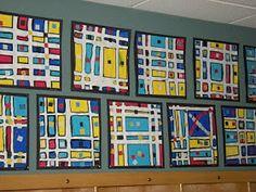 WHAT'S HAPPENING IN THE ART ROOM??: 1st Grade - Mondrian