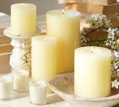 PB Pillar Candle | Pottery Barn