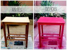 Que tal transformar um móvel da sua casa de forma simples e sem gastar muito? Aprenda a pintá-lo!